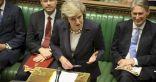 """تيريزا ماي تلمح إلى عدم طرح """"بريكست"""" لتصويت ثالث في البرلمان"""