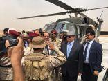 """تعزيزات عسكريةضخمة تصل مأرب بالتزامن مع وصول الرئيس هادي والفريق """"علي محسن"""