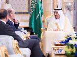 خادم الحرمين الشريفين يستقبل رئيس حزب القوات اللبنانية