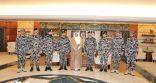 الأمير سعود بن نايف يشيد بالدور الكبير الذي يقوم به أفراد قوة أمن المنشآت والمسؤولية الكبيرة الملقاة على عاتقهم