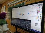 تدريب هيئة التدريس بجامعة القاهرة على استخدام الشاشات التفاعلية