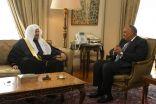 رئيس مجلس الشورى في ضيافة وزير الخارجية المصري بالقاهرة