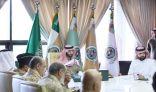 وزير الحرس الوطني يلتقي وفداً من هيئة الصناعات العسكرية «GAMI» وشركة الصناعات العسكرية «SAMI»