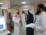 محافط العارضه بن منيخر يتفقد مستشفى المحافظة