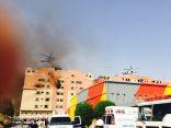 أكثر من 30 إصابة في حريق أحد المجمعات السكنية لآرامكو في الخبر