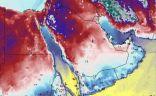 أقوى موجة باردة هذا العام تضرب معظم مناطق المملكة بدايةً من اليوم