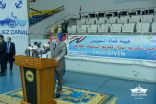 هيئة قناة السويس تكرم العاملين المشاركين في تعويم سفينة الحاويات البنمية العملاقة