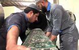 مراحل وخطوات تنظيف وتجهيز وصيانة سجاد المسجد الحرام