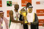 بعد الفوز على الجزائر.. رئيس اتحاد السلة: البطولة العربية كانت صعبة وقوية