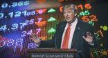 """"""" ترامب """" يحذر من انهيار سوق الأسهم الأمريكية والمستثمرون يتجاهلونه"""