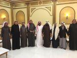 هاشم الزهراني يحتفل بعقد قران كريمته للشاب محمد