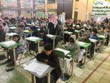 دير تعليم الخرج يتفقد إنطلاق الاختبارت في مدارس المحافظة