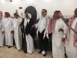 عبدالله بن مسرع الزهراني يتلقى التهاني بمناسبة زواج كريمته