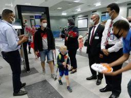 مصر للطيران تسير أول رحلة جوية من براغ إلي مطار الغردقة الدولي