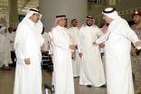 رئيس الهيئة العامة للطيران قام بزيارة تفقدية لمجمع صالات الحج والعمرة
