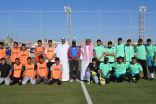 مكتب الحوية يعلن انطلاق أولى مباريات كرة القدم