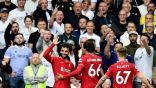 محمد صلاح يسجل في مرمي ليدز يونايتد ويصل للهدف رقم 100 له بـالدوري الإنجليزي