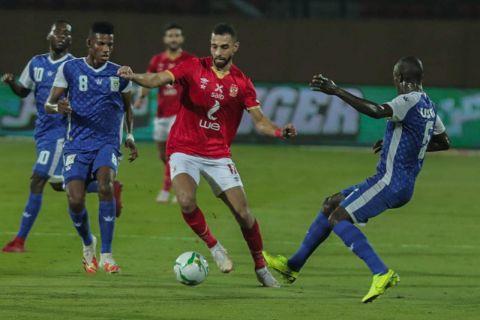 الأهلي المصري يتأهل لدور المجموعات بدوري أبطال أفريقيا عقب فوزه على الحرس الوطني بطل النيجر