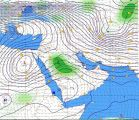 """""""الأرصاد"""": استمرار هطول الأمطار المصحوبة برياح نشطة على معظم المناطق حتى نهاية الأسبوع المقبل"""