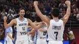الأرجنتين تقصي فرنسا وتتأهل لنهائي مونديال السلة