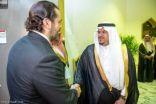 رئيس وزراء لبنان سعد الحريري يصل الرياض
