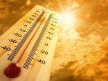 أعلى درجات الحرارة المسجلة اليوم الإثنين
