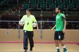 أخضر الصالات يلتقي المنتخب البحريني ودياً