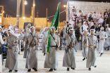 فرقة الفرسان تمثل  الباحة في مهرجان الجنادرية 32