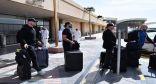لحظة وصول عدد من نجوم WWE إلى الرياض