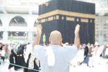أمطار غزيرة على المسجد الحرام أثناء صلاة الجمعة