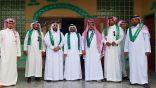 مدرسة الأمير فواز بن عبدالعزيز المتوسطة تحتفل باليوم الوطني ٨٨