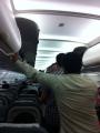 """""""حافلة المطار"""" بالرياض تحتجز ركاباً داخل طائرة 40 دقيقة"""