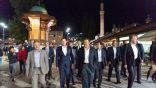 الرئيس البوسني يصطحب الأمير سلطان بن سلمان في جولة بالوسط التاريخي لمدينة سراييفو