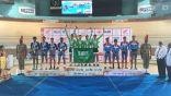 """دراجو الأخضر السعودي يحققون أربع ميداليات """" ذهبية وفضيتان وبرونزية """" في مستهل مشاركتهم الآسيوية"""