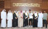 الأمير سعود بن نايف: نرفع التهنئة لمقام خادم الحرمين الشريفين وولي عهده على نجاح موسم الحج والإنجازات الرياضية التي تحققت
