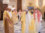خادم الحرمين يستقبل جلالة سلطان عُمان ويعقدان جلسة مباحثات