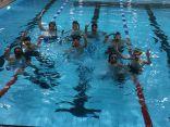 إتحاد السباحة منح الهواة فرصة التدريب على مسبح الصالة الخضراء
