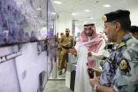 عبدالله بن بندر يتابع ميدانيا خطط إدارة الحشود بالمسجد الحرام