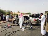 وفاة وإصابة 9 إثر حادث مروري على مخرج 24,, صور