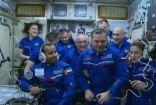لحظة دخول رائد الفضاء الإماراتي إلى المحطة الدولية