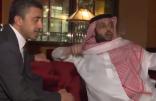 عبدالله بن زايد يزور تركي آل الشيخ في نيويورك للاطمئنان على صحته