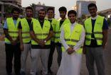 طلاب عبد الرحمن بن فيصل يطعمون 1000 صائم نيابة عن شهداء الواجب في ختام رمضان