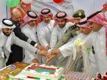 مطار أبها يحتفل باليوم الوطني الـ ٤٨ لسلطنة عمان