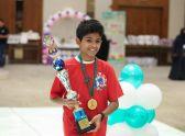 طفل سعودي يحقق إنجازا في مسابقة عالمية بماليزيا