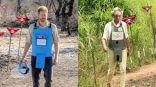 الأمير هاري يزور مشروعاً لإزالة الألغام في أنغولا