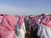 تشييع جثمان الشاب المتوفى في مضاربة جماعية بحي الحمدانية