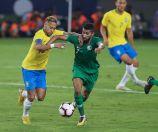 بالصور.. المنتخب السعودي يخسر امام البرازيل بهدفين دون مقابل