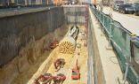 """""""السعودية للكهرباء"""" تدعم قطار الرياض بأطول دائرة كهربائية من نوعها في الشرق الأوسط بطول 22.3 كم"""