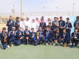 جامعة الملك خالد تحقق بطولة كرة الهدف و جامعة الملك سعود تتوج ببطولتي التنس وقوى الاحتياجات الخاصة