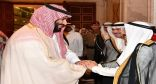 شاهد…مأدبة العشاء التي أقامها أمير الكويت لولي العهد